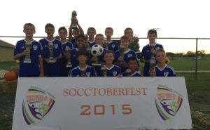 CFCU13_ boys gold champions 2015 socctoberfest