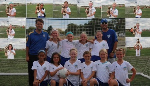 U11 Girls Grey team wins the